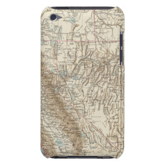 Pacifischen Staaten der Union - Map of West USA iPod Case-Mate Case