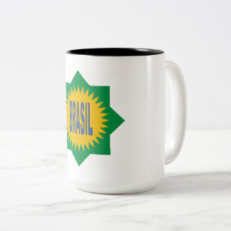 PACK BRAZIL Two-Tone COFFEE MUG