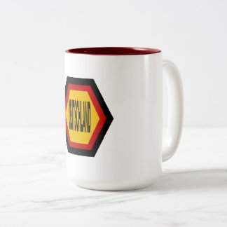 PACK     DEUTSCHLAND   SPORT Two-Tone COFFEE MUG