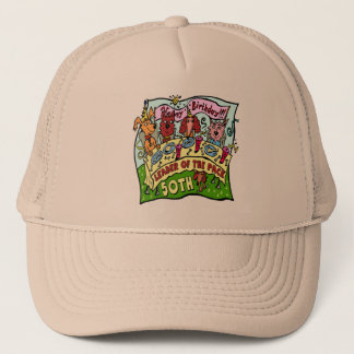 Pack Leader 50th Birthday Hat