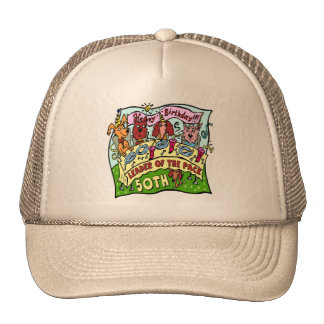 Pack Leader 50th Birthday Hat