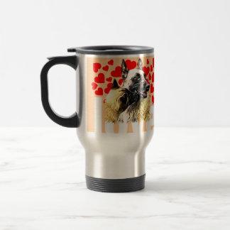 pack malinois travel mug