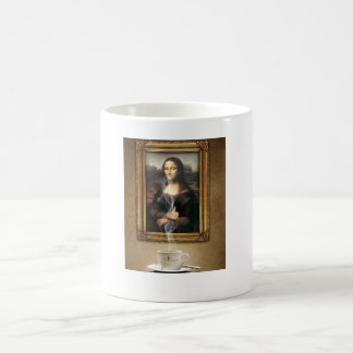 pack Mona Lisa Basic White Mug