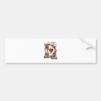 pack money adhesive of car bumper sticker