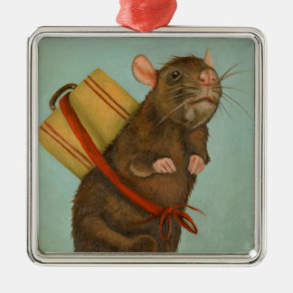 Pack Rat Christmas Ornament