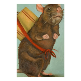 Pack Rat Personalized Stationery