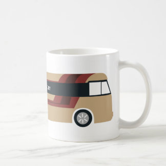 Pack tourist bus basic white mug