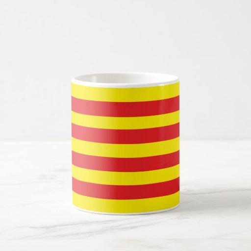 "Pack with flag Catalan ""Senyera "" Coffee Mugs"
