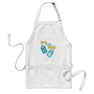 Pack Your Bags Standard Apron