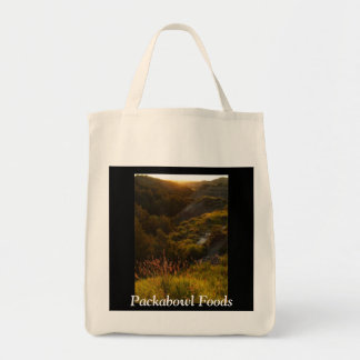 Packabowl Foods Organic Tote Grocery Tote Bag