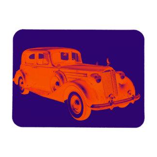 Packard Luxury Car Pop Art Rectangular Magnet