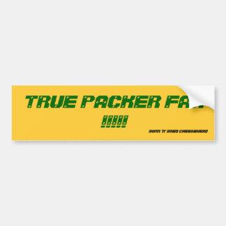 PACKER FAN STICKER BUMPER STICKER