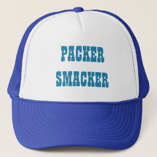 Packer Smacker In Detroit Blue Cap