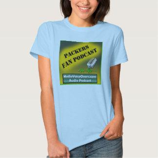 Packers Fan Podcast women's t-shirt