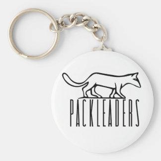 PackLeader Blk Logo Keychain