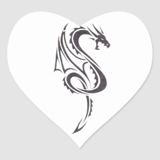 Pact Of The Dragon 2 Heart Sticker