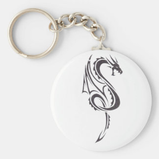 Pact Of The Dragon B2 Basic Round Button Key Ring