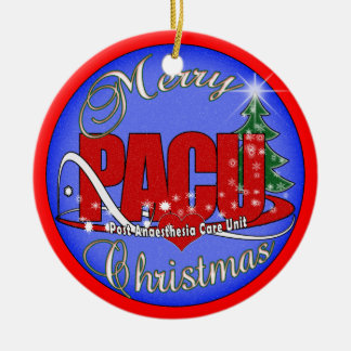 PACU Post-Anesthesia Care Unit CHRISTMAS ORNAMENT