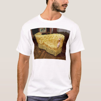 Padded love seat, Napoleon III Period T-Shirt