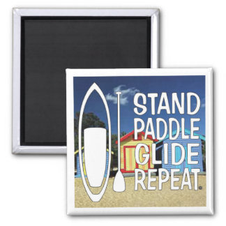 Paddle board magnet