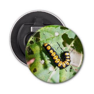 Paddle Caterpillar Magnet Backed Bottle Opener