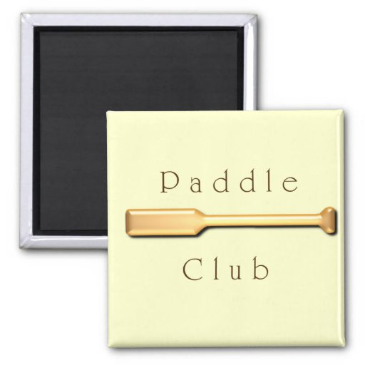 Paddle Club Refrigerator Magnets
