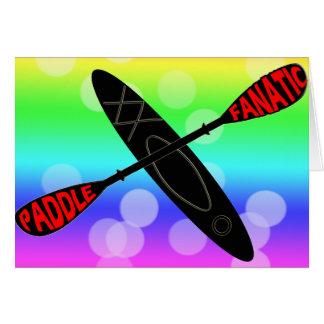 PADDLE FANATIC - KAYAK LOGO CARDS