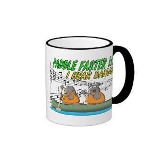 Paddle Faster Mugs