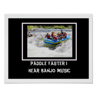 Paddle Faster Poster