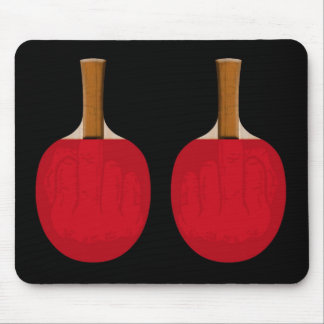 Paddle Fingers Mouse Mat