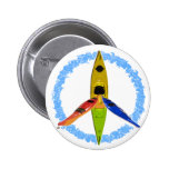 PADDLE FOR PEACE BUTTONS