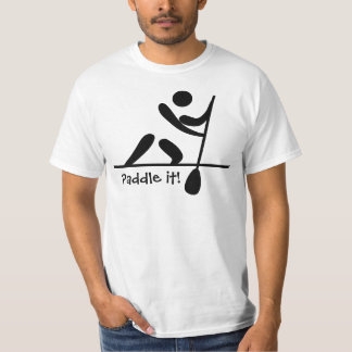Paddle it! Canoeing T-shirt for Men