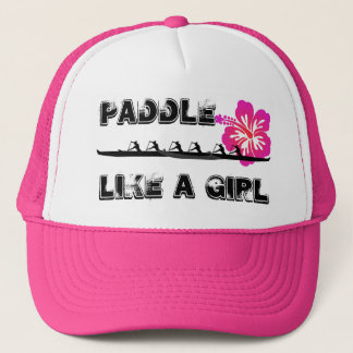 Paddle Like a Girl Trucker Hat
