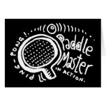 Paddle Master 2 Greeting Card