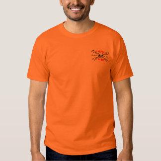 Paddle or Die in high vis. orange T Shirt