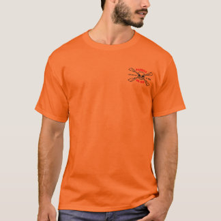 Paddle or Die in high vis. orange T-Shirt
