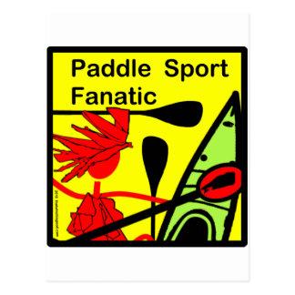 Paddle Sport Fanatic Fun Postcard