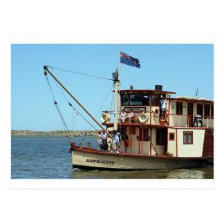 Paddle steamer, Australia 2 Postcard