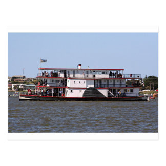 Paddle steamer, Australia 3 Postcard
