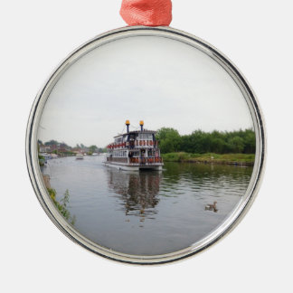 Paddle Steamer Southern Comfort Christmas Ornament