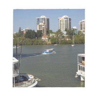 Paddle Steamers, Brisbane River, Brisbane, Notepad