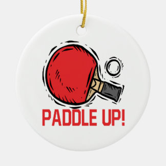 Paddle Up Christmas Ornament