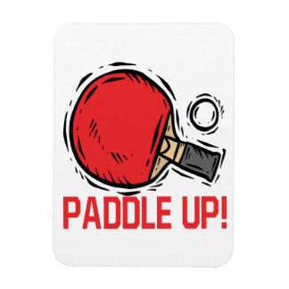 Paddle Up Rectangular Magnet
