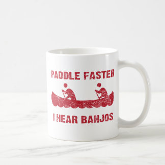 PaddleFaster Deliverance Basic White Mug
