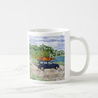 """""""Paddling Day"""" Coffee Mugs"""