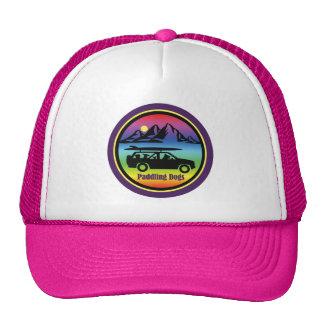 Paddling Dogs Pink Trucker Hat
