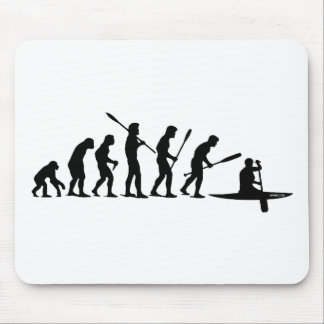 Paddling Evolution (C1) Mouse Pad