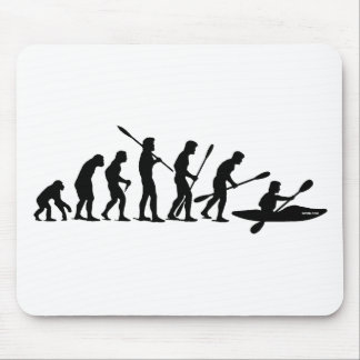 Paddling Evolution (kayak) Mouse Pad