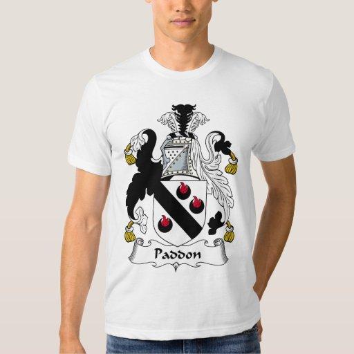 Paddon Family Crest T-shirt