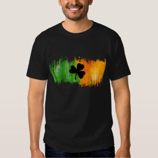 Paddy Ink Lucky Clovers dark tshirt